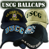 US Coast Guard Ballcaps