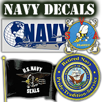 US Navy Decals