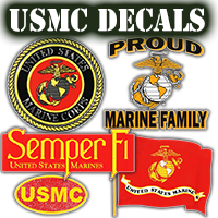US Marine Decals
