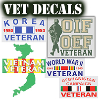 Veteran Decals