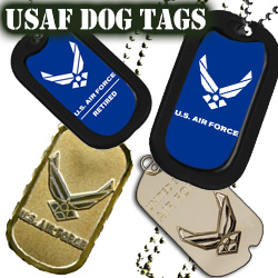 US Air Force Dog Tags