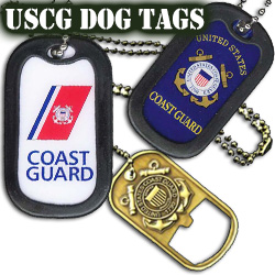 US Coast Guard Dog Tags
