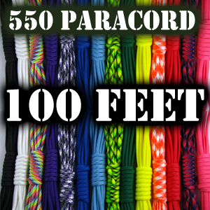 Paracord 550 - 100' Length