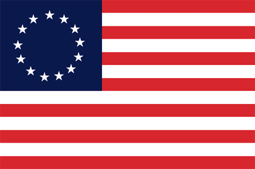 USA Flag - Betsy Ross - Super Poly 3' x 5'