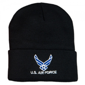 US Air Force Watch Cap - Embroidered with Logo