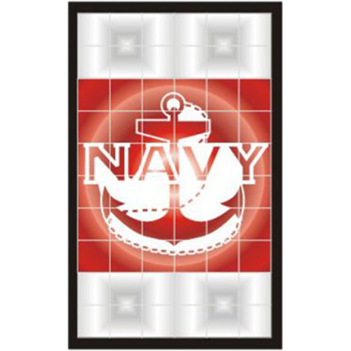 U.S. Navy Decal - Tail Light - Anchor - 2 Decals