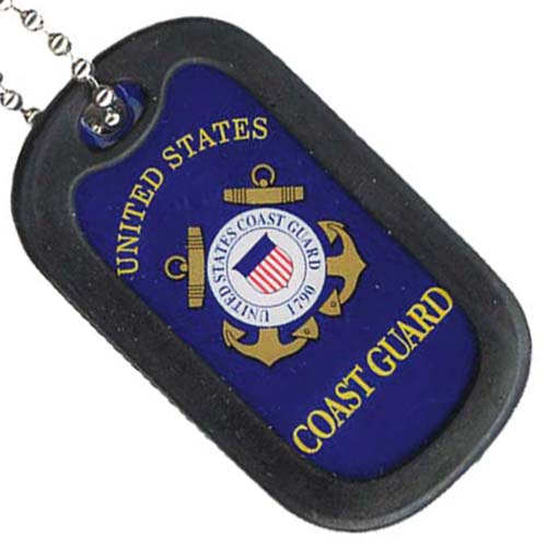 United States Coast Guard with Emblem Dog Tag