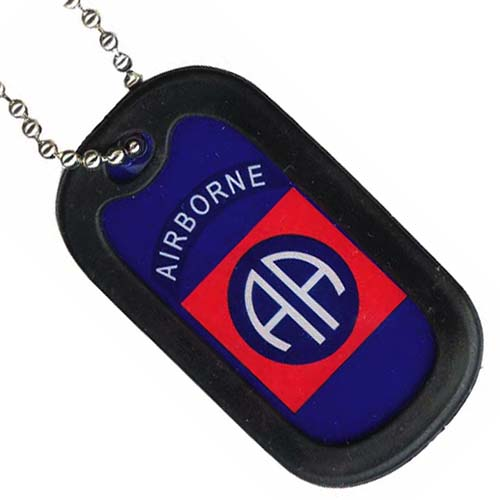 United States Army 82nd Airborne Dog Tag