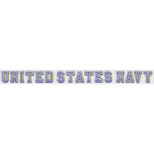 "U.S. Navy Decal - 18"" - ""United States Navy"" Strip"