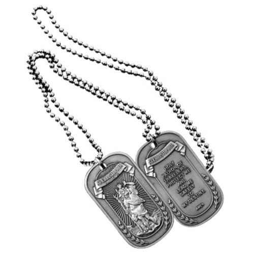Saint Christopher Patron of Travels - Dog Tag
