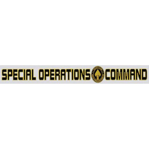 """U.S. Air Force Decal - 15"""" - Spec Ops Comm - Strip"""