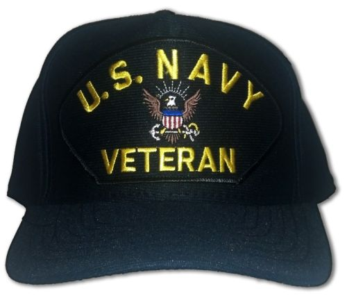 Veteran ID Ball Cap - Navy Veteran with Logo