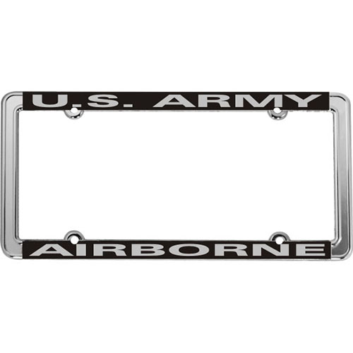 United States Army Airborne License Plate Frame