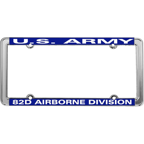 United States Army 82nd Airborne License Plate Frame