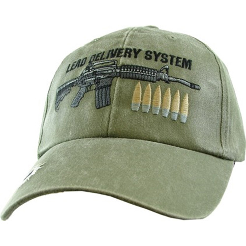 Assorted Ballcap - Lead Delivery System - Olive Drab