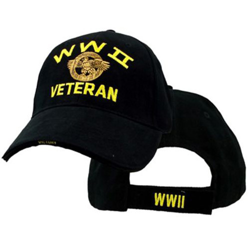 Veteran Ballcap - WWII with Ruptured Duck
