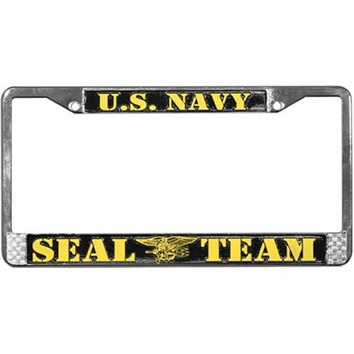 United States Navy Seal Team License Plate Frame