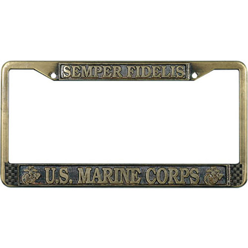 Amazoncom Military  Frames  License Plate Covers