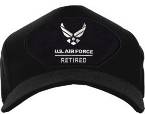 """USAF Ballcap - Retired - """"U.S. Air Force"""" with wings"""