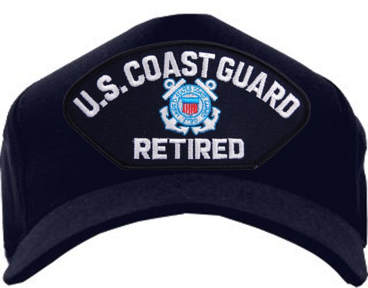 USCG Ball Cap - U.S. Coast Guard Retired