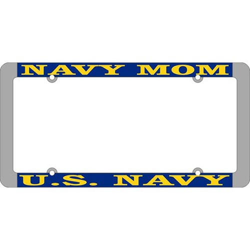 United States Navy Mom License Plate Frame
