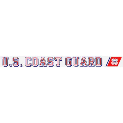 "U.S. Coast Guard Decal - 16"" - ""USCG"" Strip"