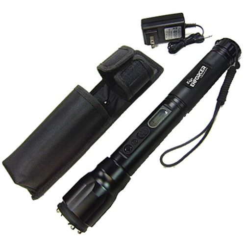 Stun Gun Flashlight: ZAP Enforcer  - 2 Million Volt Extreme