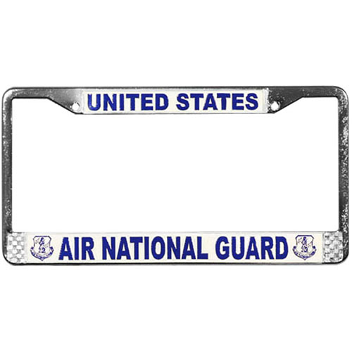 United States Air National Guard License Plate Frame
