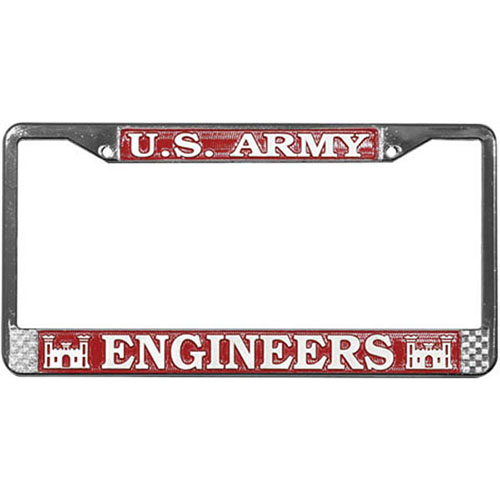 United States Army Engineers License Plate Frame
