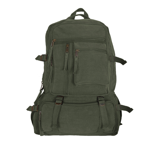Classic Retro Cantabrian Excursion Rucksack (No Leather Trim) - 4 Colors