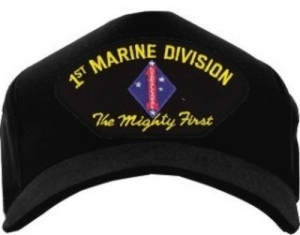 """USMC ID Ballcap - 1st Marine Division """"The Mighty First"""""""