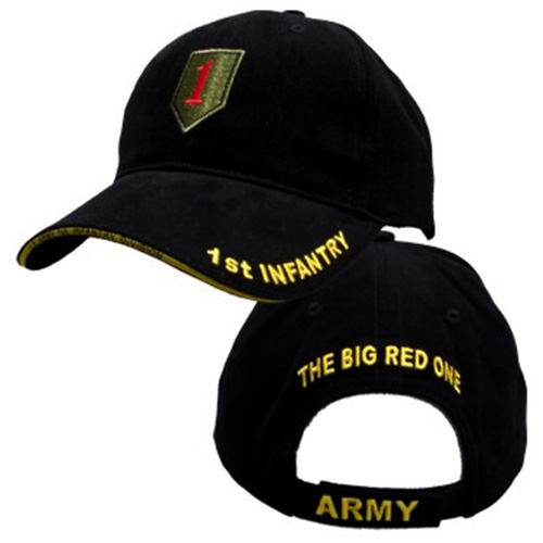US Army Ballcap - 1st Infantry - Big Red One