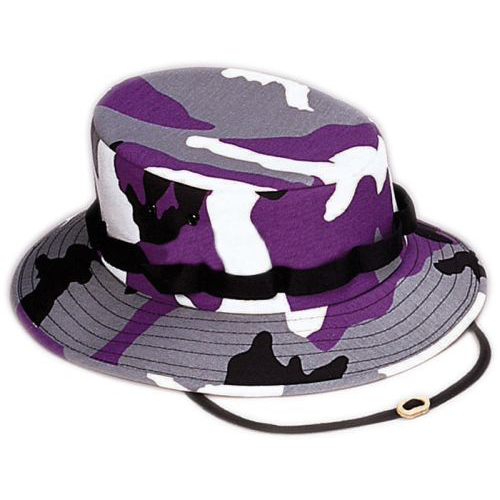 Boonie Hat - Violet - Polyester/Cotton