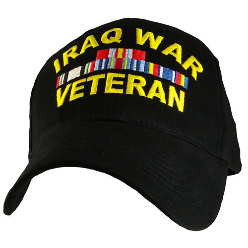 Veteran Ballcap - Iraq War - Black