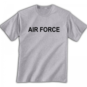 PT T-Shirt - US Air Force Grey Physical Training T-Shirt