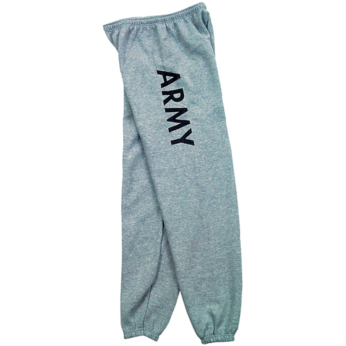 PT Sweatpants - US Army - Grey