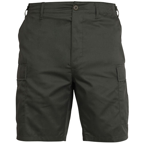 BDU Shorts - Olive Drab Poly/Cotton