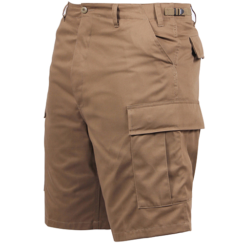 BDU Shorts - Coyote Tan - Polyester/Cotton