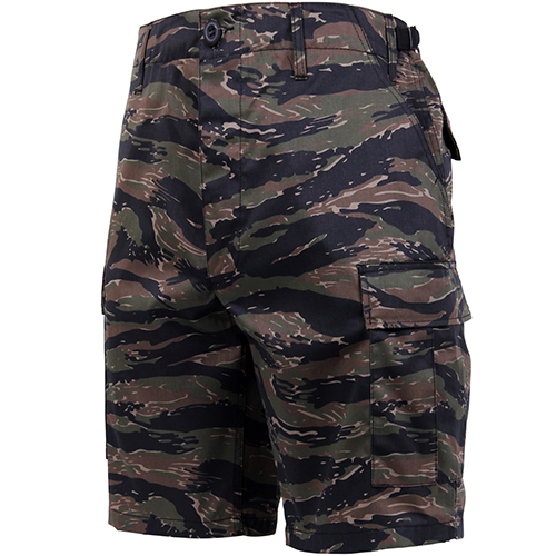 BDU Shorts - Tiger Stripe Camo - Poly/Cotton