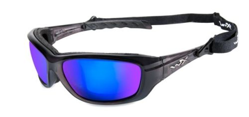 Wiley X: WX Gravity - Polished Blue/Black Frame