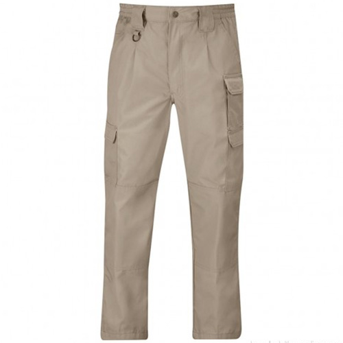 Tactical Pants Canvas Khaki - 65% Polyester / 35% Cotton Canvas