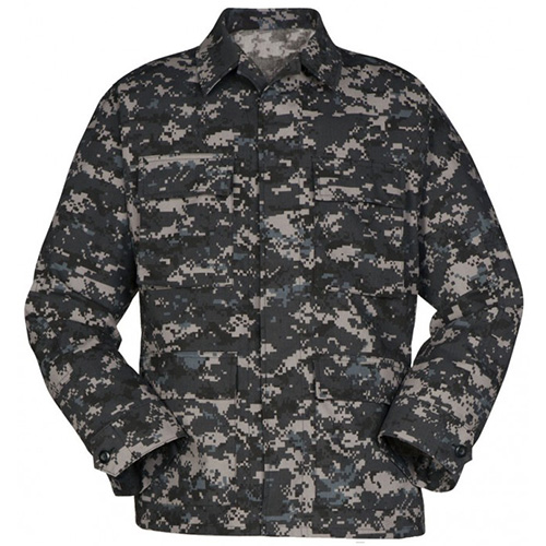 Genuine Gear BDU Shirt - Subdued Urban Camo - Ripstop