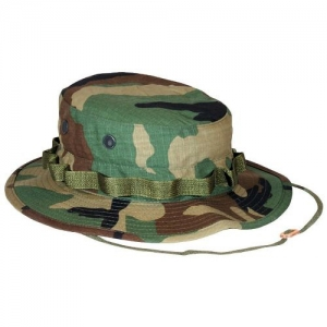 a392fef33c0fc Ultra Force Boonie Hat - Woodland Camo - Rip Stop