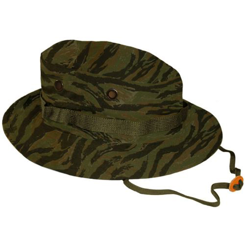 5a262c04d10 Military Tiger Stripe Rip-Stop Boonie Hat