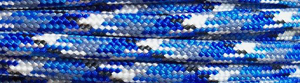 Bucky Blue Camo - 50ft - 550 Paracord