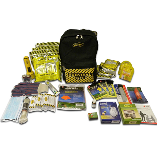 Survival Kit Backpack - 3 Person