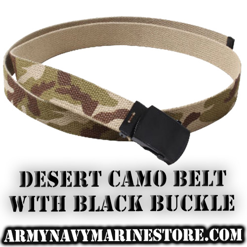 Web Belts - Camo - 44