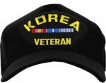 Veteran ID Ballcap - Korea with Ribbons