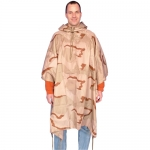 Poncho Ripstop 3-Color Desert