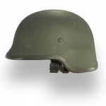 Kevlar GI Helmet with Cover - Used
